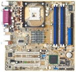 Drivers bios Asus P4P800-MX carte mère motherboard telecharger gratuit