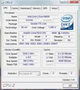 Telecharger gratuit logiciel CPU-Z contrôle de votre processeur et de ses performances